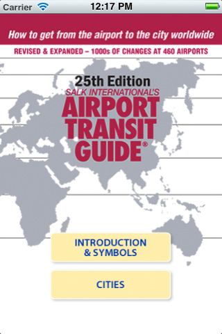Salk International's Airport Transit Guide